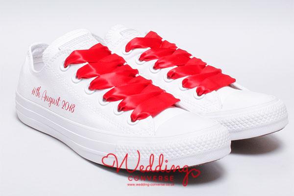 custom shoes for an asian wedding