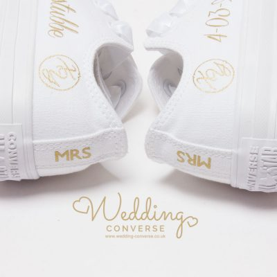 mrs wedding sneakers