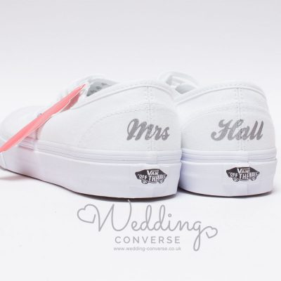 vans wedding sneakers