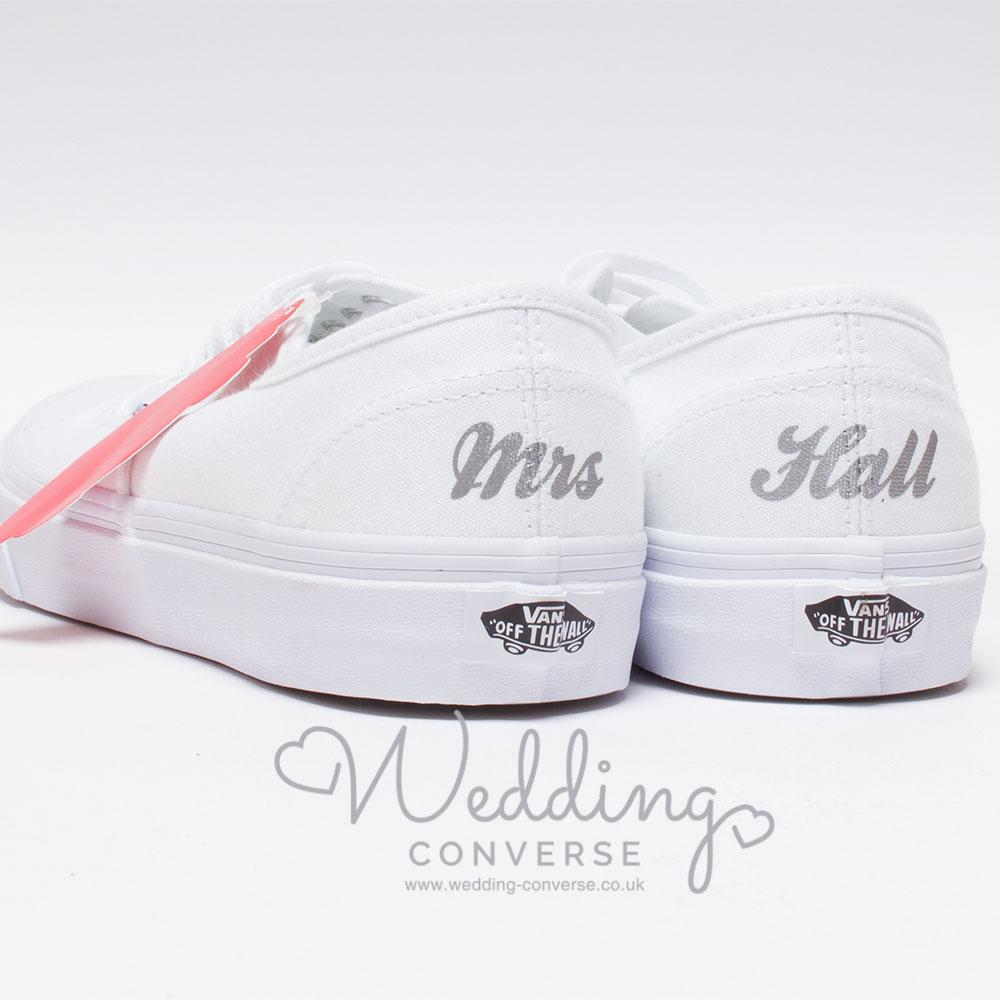 vans wedding sneakers