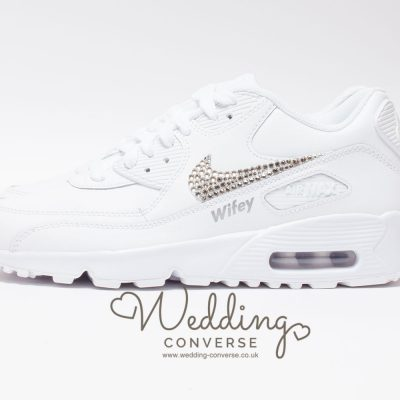 wifey wedding sneakers