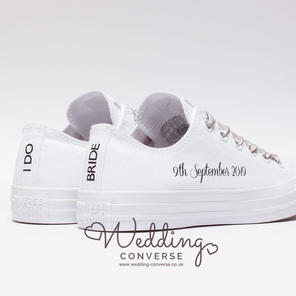 I DO Custom Converse