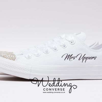 custom converse for weddings