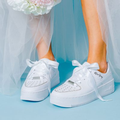 custom nike wedding shoes
