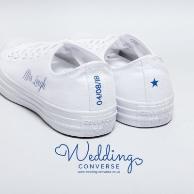 wedding shoes custom converse