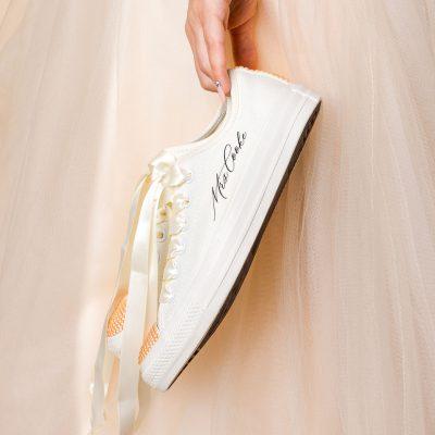 pearl bridal converse