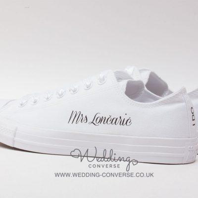 Personalizirane cipele za vjenčanje