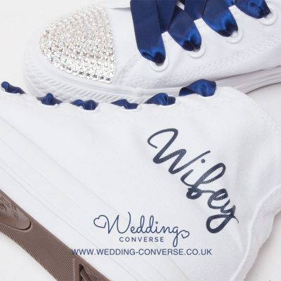 wifey wedding shoes