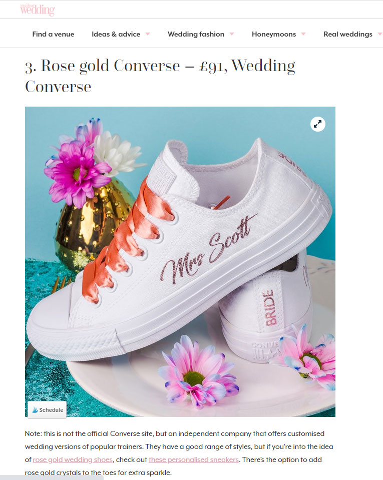 the best wedding trainers