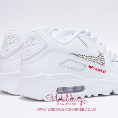 nike air max wedding sneakers