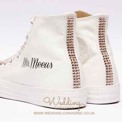 sparkly wedding trainers uk
