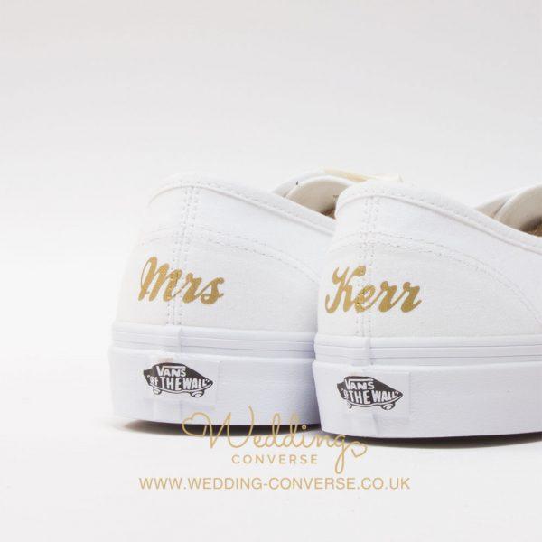wedding vans shoes