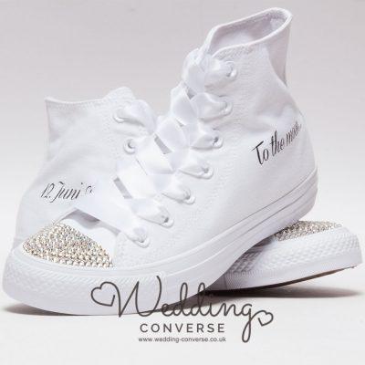 custom wedding sneakers